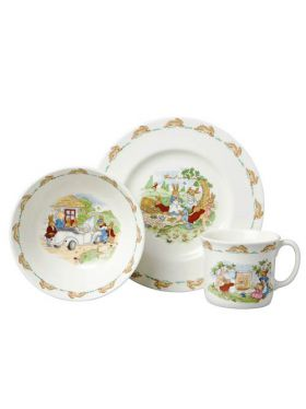 Bunnykins Traditional 3 piece Childrens's Set