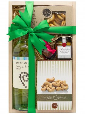 Gourmet Snack - White Wine Hamper