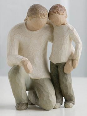 Willow Tree Figurine - Father & Son