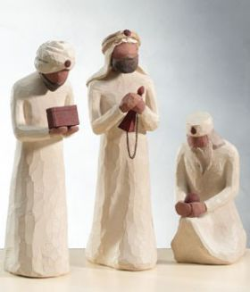 Willow Tree Figurines - The Three Wisemen