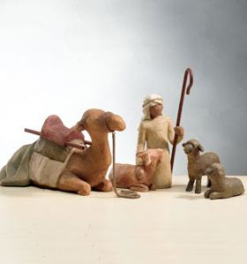Willow Tree Figurines - Shepherd and Stable Animals