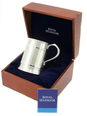 Royal Selangor Tankard in Wooden Gift Box 450ml