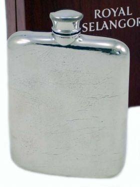 Royal Selangor Hipflask in Wooden Gift Box 140ml