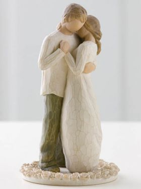 Willow Tree Wedding Collection - Promise Cake Topper
