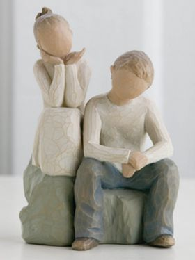 Willow Tree Figurine - Brother and Sister
