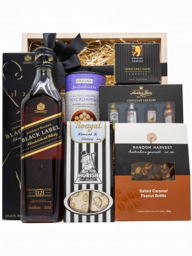 Black n Bold - Scotch Hamper