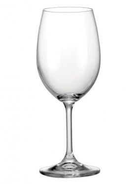 Bohemia Crystal Lara Wine Goblets, 350ml x 6