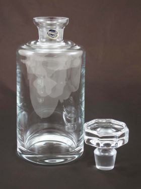 Bohemia Crystal Glass Whisky Decanter, 1 Ltr