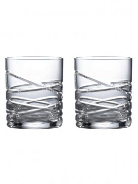 Royal Doulton Saturn Crystal Tumblers - Set of 2