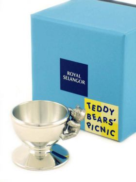 Royal Selangor Teddy Bears Picnic - Pewter Egg Cup