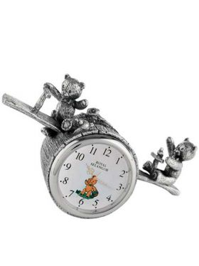 Royal Selangor Teddy Bears Picnic - Playtime Nursery Clock