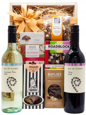 2 x Red Wine Gift Hamper