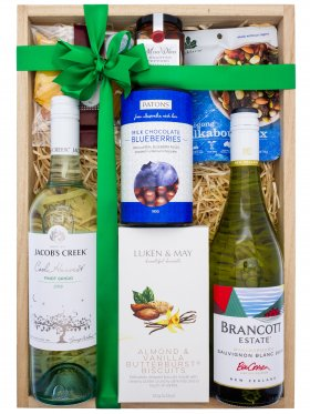 2 x White Wine Gift Hamper
