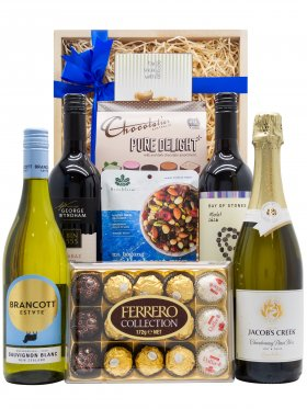 4 x Mixed Wine Selection Gift Hamper