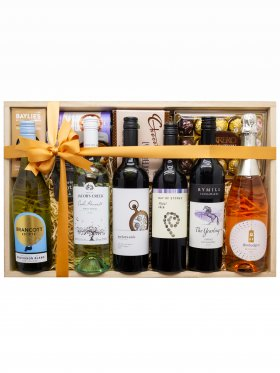 6 x Mixed Wine Selection Gift Hamper