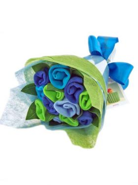 Babycupcakes Sock Posy - Brilliant Blue