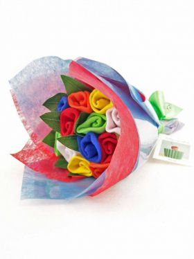 Babycupcakes Sock Posy - Multi Bright