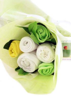 Babycupcakes Essential Clothes Bouquet - Lemon Zest