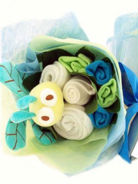 Babycupcakes Play Bouquet - Blue