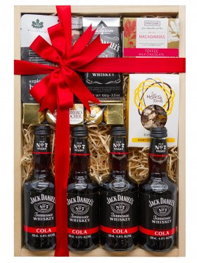 Jack Daniel's Whiskey & Cola Gift Hamper