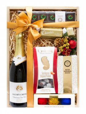 White Christmas - Christmas Wine Hamper