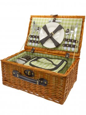 Two Person Deluxe Picnic Basket