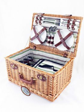 The Great Outdoors - 4 Person Gourmet Picnic Hamper
