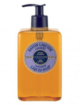 L'Occitane LAVANDE Shea Liquid Soap - Lavender, 500ml