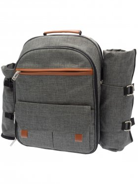 Four Person Picnic Backpack Set
