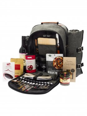 Alfresco Delight - 4 Person Gourmet Picnic Set