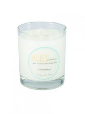 Bliss Candles - Soy Tumbler Candle - French Pear