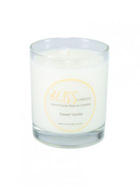 Bliss Candles - Soy Tumbler Candle - Sweet Vanilla