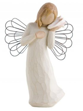 Willow Tree Figurine - Thinking of You Angel