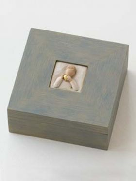 Willow Tree Memory Box - Heart of Gold