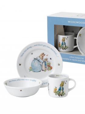 Peter Rabbit Classic - Boys 3 Piece Nursery Set
