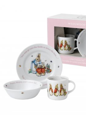 Peter Rabbit Classic - Girls 3 Piece Nursery Set