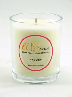 Bliss Candles - Soy Tumbler Candle - Pink Sugar
