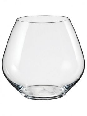 Bohemia Crystal Amoroso Stemless Wine Glasses, 440ml x 2
