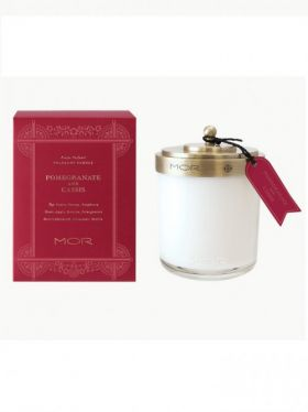 MOR Pomegranate & Cassis Fragrant Candle 380g