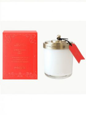 MOR Cyclamen & Lily Fragrant Candle 380g