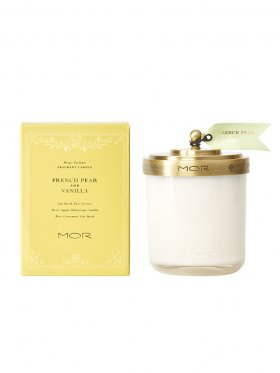 MOR French Pear & Vanilla Fragrant Candle 380g