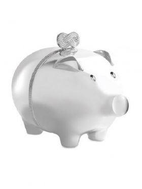 Wedgwood Vera Wang Infinity Piggy Bank