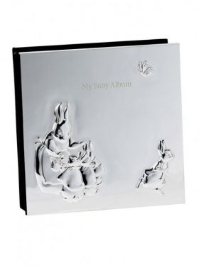 Wedgwood Peter Rabbit Silver Baby Album