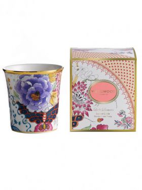 Wedgwood Butterfly Bloom Candle - Gardenia & Peony