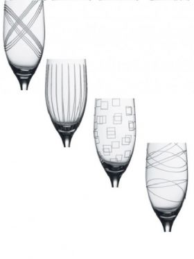 Royal Doulton Party Sets - Champagne Flutes (Box of 4)