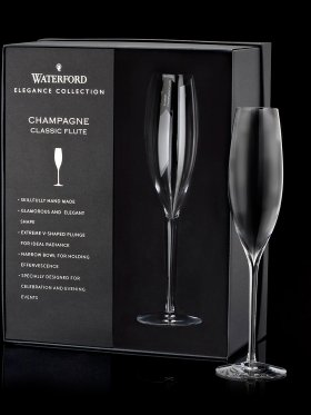 Waterford Crystal Elegance Champagne Classic Flute Pair
