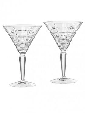 Marquis by Waterford Crosby Martini Pair