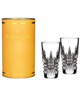 Waterford Crystal Giftology Lismore Diamond Shot Glass Pair