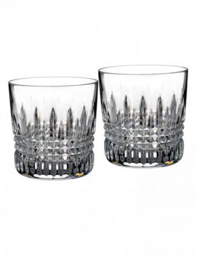 Waterford Crystal Lismore Diamond DOF Tumbler Pair
