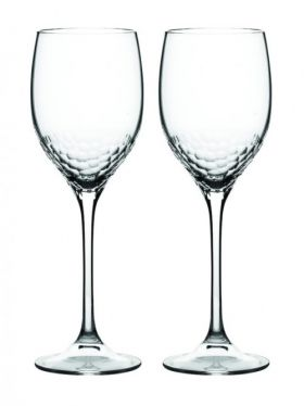 Wedgwood Vera Wang Sequin Crystal Wine Pair